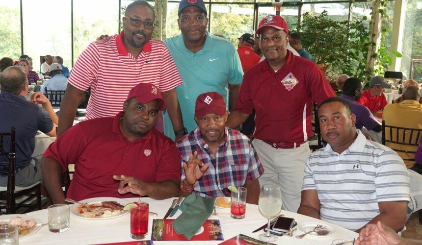 Five Men at Luncheon