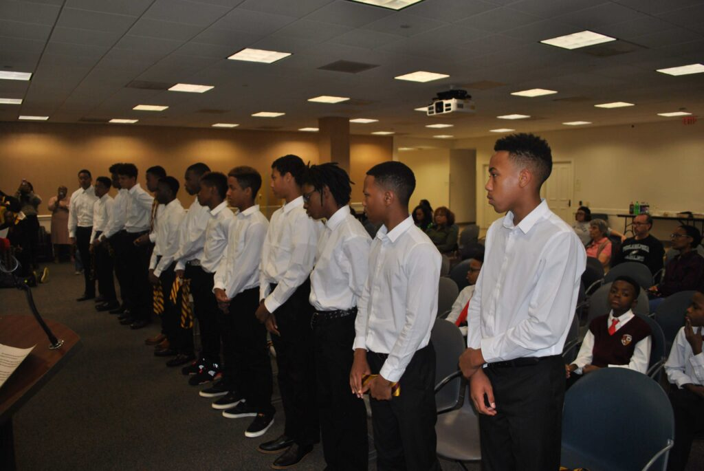 Photo of Kappa League participants in classroom