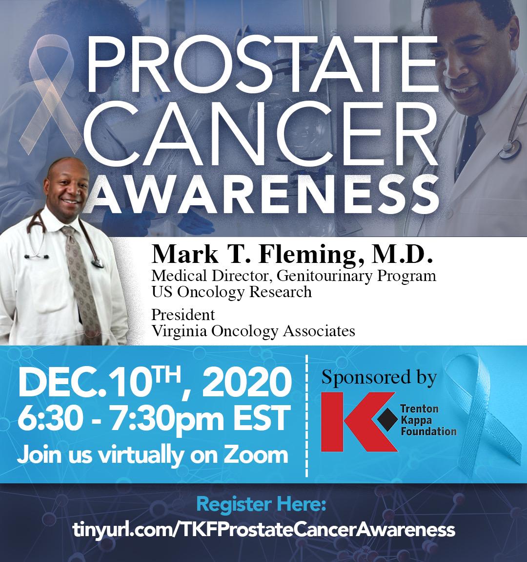 Prostate Cancer Awareness Flier