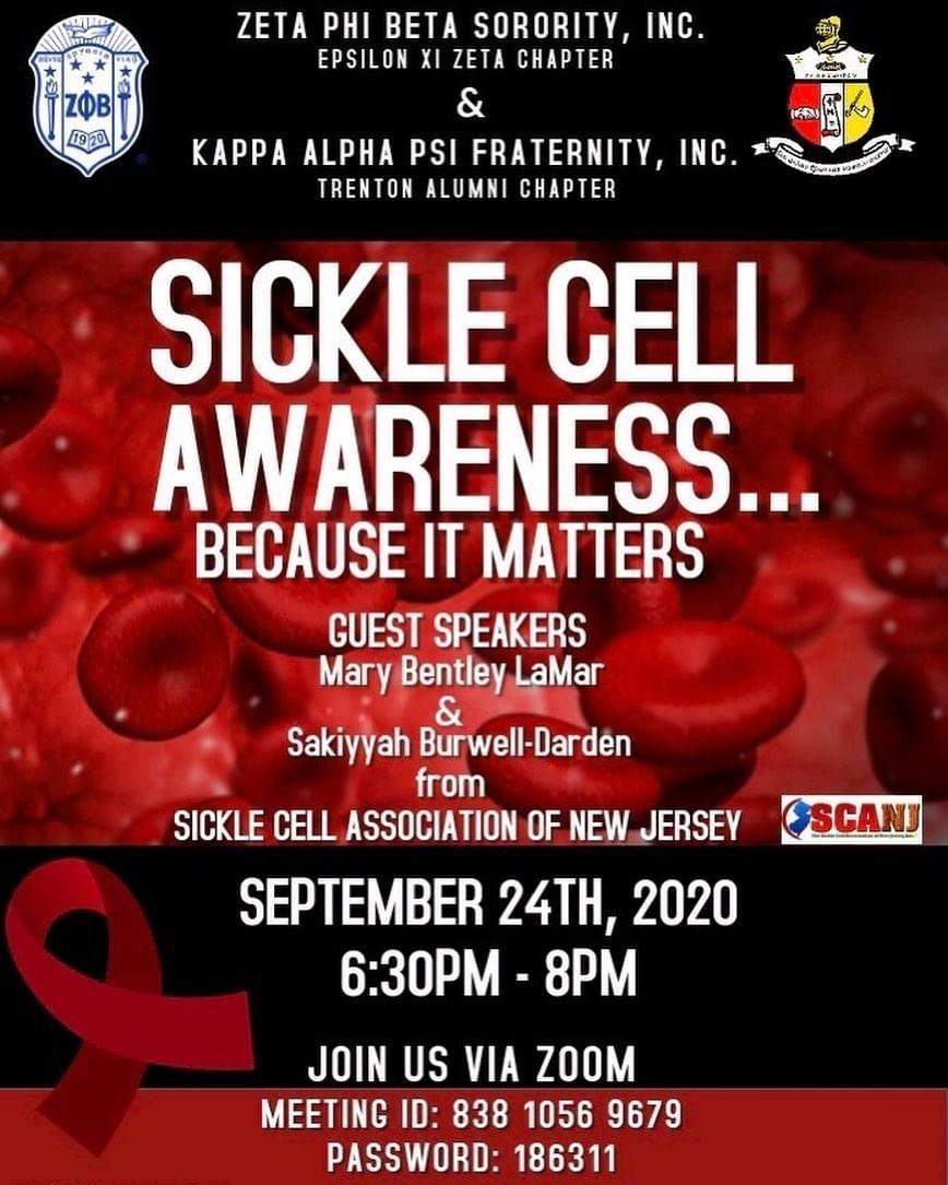 Sickle Cell Awareness Flier